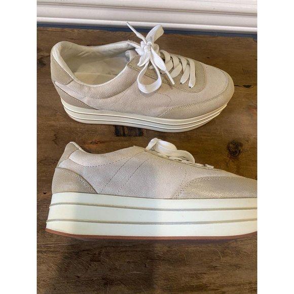 Zara Basic Collection Platform Sneakers Size 39
